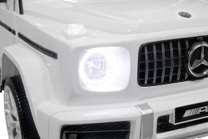 Masinuta electrica Mercedes G63 XXL 4x4 PREMIUM  #Alb10