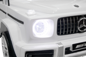 Masinuta electrica Mercedes G63 XXL 2x4 PREMIUM  #Alb7