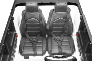 Masinuta electrica Mercedes G63 XXL 2x4 PREMIUM  #Alb8