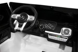 Masinuta electrica Mercedes G63 XXL 4x4 PREMIUM  #Alb8