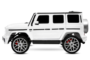 Masinuta electrica Mercedes G63 XXL 2x4 PREMIUM  #Alb4