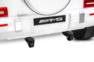 Masinuta electrica Mercedes G63 XXL 4x4 PREMIUM  #Alb7