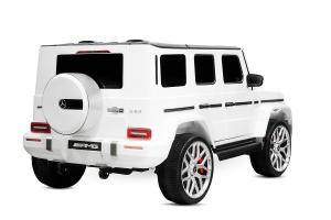 Masinuta electrica Mercedes G63 XXL 2x4 PREMIUM  #Alb2