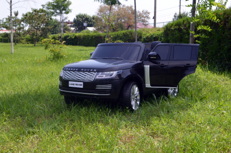 Masinuta electrica Range Rover Vogue HSE 4x4 180W DELUXE, player MP4 #Negru [8]