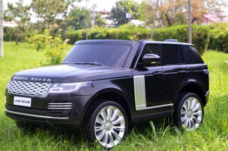 Masinuta electrica Range Rover Vogue HSE 4x4 180W DELUXE, player MP4 #Negru [1]