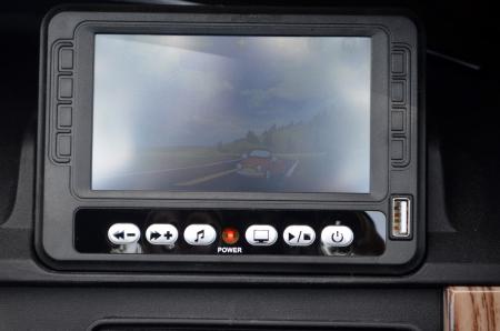 Masinuta electrica Range Rover Vogue HSE 4x4 180W DELUXE, player MP4 #Negru [9]