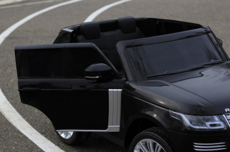 Masinuta electrica Range Rover Vogue HSE 4x4 180W DELUXE, player MP4 #Negru [6]