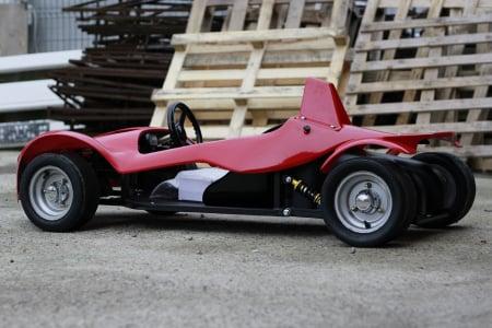 Masinuta electrica RAZER GT 48V 1000W cu 2 viteze #Rosu [5]