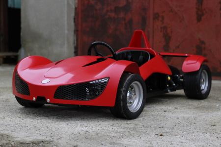 Masinuta electrica RAZER GT 48V 1000W cu 2 viteze #Rosu [2]