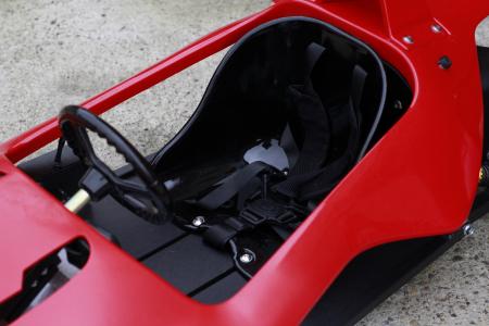 Masinuta electrica RAZER GT 48V 1000W cu 2 viteze #Rosu [11]