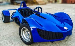 Masinuta electrica RAZER GT 48V 1000W cu 3 viteze #Albastru1