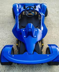 Masinuta electrica RAZER GT 48V 1000W cu 3 viteze #Albastru5