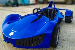 Masinuta electrica RAZER GT 48V 1000W cu 3 viteze #Albastru7