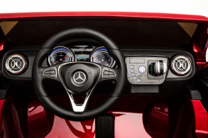 Masinuta electrica Mercedes X-Class 2x45W STANDARD #Albastru2