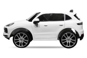Masinuta electrica Porsche Cayenne XXL PREMIUM #Alb6