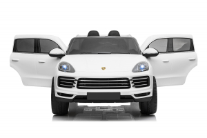 Masinuta electrica Porsche Cayenne XXL PREMIUM #Alb3