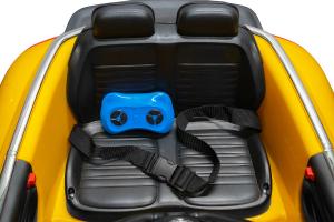 Masinuta electrica VW Beetle Dune Cabrio STANDARD #Galben10