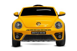 Masinuta electrica VW Beetle Dune Cabrio STANDARD #Galben1