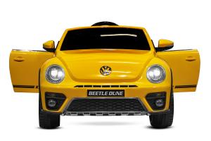 Masinuta electrica VW Beetle Dune Cabrio STANDARD #Galben2