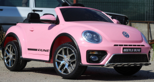 Masinuta electrica VW Beetle Dune Cabrio STANDARD #Roz2