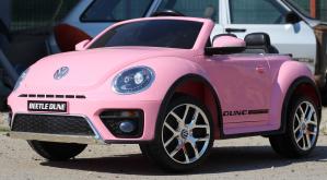 Masinuta electrica VW Beetle Dune Cabrio STANDARD #Roz3