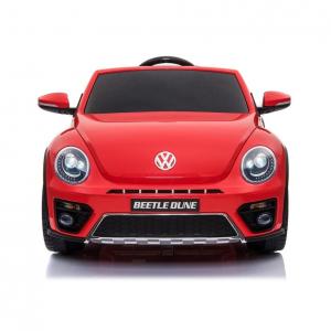 Masinuta electrica VW Beetle Dune Cabrio STANDARD #Rosu1