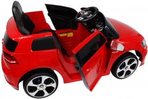 Masinuta electrica VW Golf GTI 2x30W 12V STANDARD #Rosu1