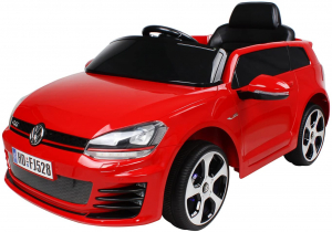 Masinuta electrica VW Golf GTI 2x30W 12V STANDARD #Rosu0
