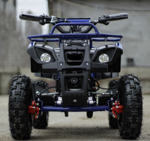 Mini ATV electric NITRO Torino Deluxe Quad 800W 36V #Albastru2
