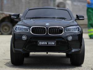 Masinuta electrica BMW X6M 2x35W 12V PREMIUM #Negru1