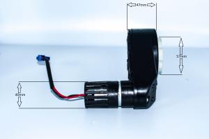 Motoreductor pentru masinuta electrica1