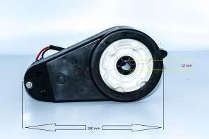 Motoreductor pentru masinuta electrica2