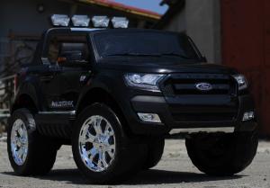 Masinuta electrica Ford Ranger 4x4 cu ROTI MOI 4x45W #Negru2