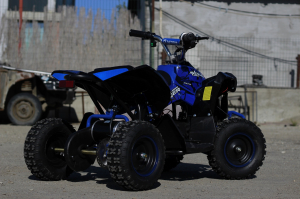 ATV Electric Eco Avenger 1000W 48V cu 3 Trepte de Viteza #Albastru4