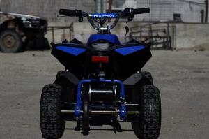 ATV Electric Eco Avenger 1000W 48V cu 3 Trepte de Viteza #Albastru5