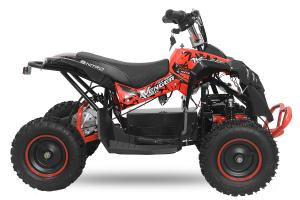 ATV Electric Eco Avenger 1000W 48V cu 3 Trepte de Viteza #Rosu2
