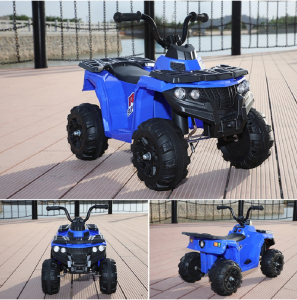 Mini ATV electric Panda BB3201 25W STANDARD #Albastru2