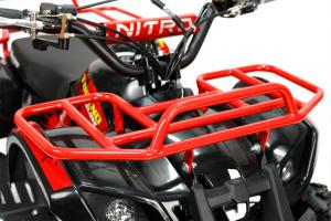Mini ATV Electric Eco Torino Deluxe 1000W 48V cu 3 Trepte de Viteza #Rosu [2]