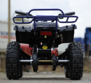 Mini ATV Electric Eco Torino Deluxe 1000W 48V cu 3 Trepte de Viteza #Albastru4