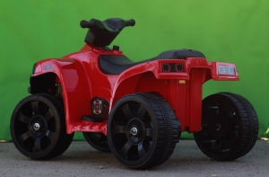 Mini ATV electric PANDA 25W STANDARD #Rosu3
