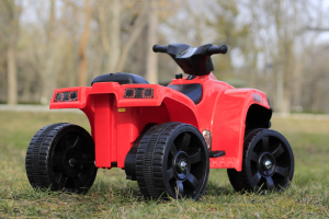 Mini ATV electric PANDA 25W STANDARD #Rosu4