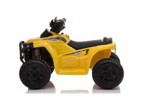 Mini ATV electric pentru copii BJ116 35W STANDARD #Galben1