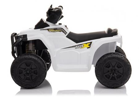 Mini ATV electric pentru copii BJ116 35W STANDARD #Alb [3]
