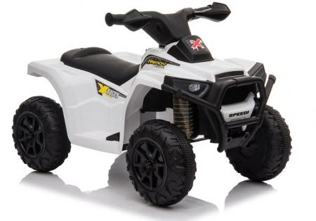 Mini ATV electric pentru copii BJ116 35W STANDARD #Alb [1]