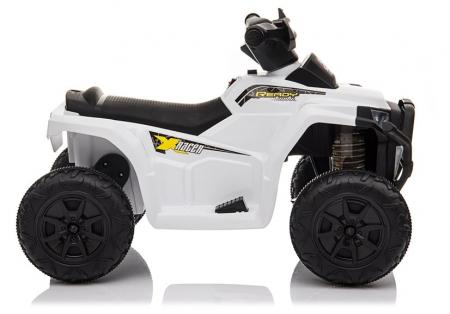 Mini ATV electric pentru copii BJ116 35W STANDARD #Alb [6]