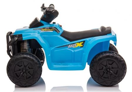 Mini ATV electric pentru copii BJ116 35W STANDARD #Albastru [2]
