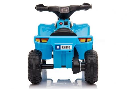 Mini ATV electric pentru copii BJ116 35W STANDARD #Albastru [5]