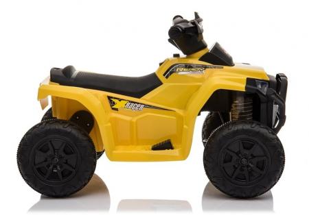 Mini ATV electric pentru copii BJ116 35W STANDARD #Galben [4]