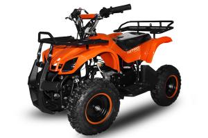 Mini ATV electric pentru copii NITRO Torino Quad 800W 36V # Portocaliu0
