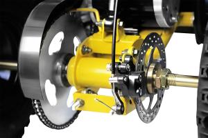ATV electric NITRO ECO Torino Cross 800W 36V #Galben [7]